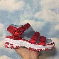 Wholesale Women S Fashion Sandals - 2017 Womens Summer Shoes S D'lites Sandals For Women Yoga Foam Black Red Pink Grey Blue Sneaker Shoes Eur 36-39 Free Shipping
