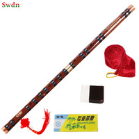 Wholesale Woodwind Musical Instruments - Wholesale- High Quality Bamboo Flute Professional Woodwind dizi Musical instruments C D E F G Key Chinese dizi Transversal Flauta Xiao