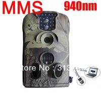 Wholesale Hunting Camera 12mp - Wholesale-Ltl Acorn Ltl 5210MM 940nm Leds no flash 12MP MMS GSM animal infrared hunting scouting trail wildlife Surveillance camera