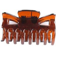pc sieben großhandel-Großhandelsfrauen sondern einseitige sieben Zahn-Haarspangen-Greifer-Haarnadel-Sitz-Handwerks-Haarspangen (große 6pcs / small 10 PC eine Packung) 2 Größe 2016 aus