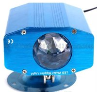 Wholesale Sound Shells - Multi-color Mini LED stage light 5W LED stage water lines ripples light Blue shell AC 85V-265V LED wave Lighting For Pubs KTV Party Club MYY