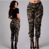 Wholesale lady s boots - The new spring and autumn fashion leisure popular new trends Ladies Sexy camouflage waist pants S-XXLcm