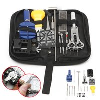 Wholesale Applied Tool - Professional 20 Pcs Watch Repair Tools Kit Set With Case Watch Tools Apply To General Problem Of Watch For Watchmaker