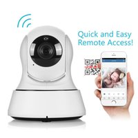 cámara de red de seguridad doméstica al por mayor-HD Home Security WiFi Baby Monitor 720P Cámara IP Red de Vigilancia de Visión Nocturna Cámaras de interior para bebés