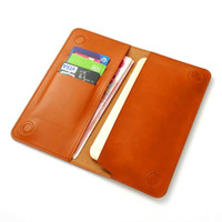 Wholesale Iphone 5s Vintage Cases - Luxury Vintage Leather Wallet Phone Bags Case For Samsung LG iPhone 8 7 6 6S Plus SE 5S 5 Soft Brand Cover Purse With Retail Package
