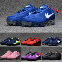 Wholesale New Camping Products - New Cheap Running Shoes Air Cushion 2018 Men Women 100% Original New Product Hot Sale Breathable Outdoor Sneaker Eur 36-47