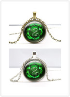 Wholesale Around Love Pendant - Fashion Retro Time Gem Necklace Around European and American Television Time Sources Jewelry Harry Necklace Pendants Wholesale