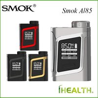 Wholesale Button Kits - 100% Original SMOK Alien Baby AL85 Box MOD with integrated functional buttons VS Smok Alien Mod & Smok Alien Kit fast shipping