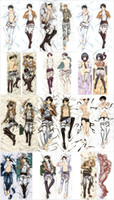 Wholesale Attack Titan Levi Pillow - Wholesale- Fashion NEW Anime pillow case cover Attack on Titan Levi Rivaille Hugging Body Bedding Pillow Covers