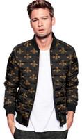 Wholesale Duck Down Feather Jacket - new 2017 men models zipper stand down collar hit color cardigan warm casual cotton jacket men's shirt Cotton garment Down jacket Winter coat