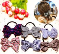 Wholesale Hair Factory Yiwu - Korean bow hair selling stall selling Yiwu cloth headdress factory wholesale Yiwu ring