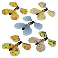 Creative Magic Butterfly Flying Butterfly Change avec mains vides Freedom Butterfly Magic Props Trucs magiques CCA6800 1000pcs