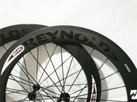 Wholesale Reynolds Road Wheelset - REYNOLDS Decal 50mm Clincher Wheelset 700c 23mm Width UD Matte Cycling Racing Road Carbon Wheel