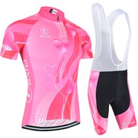 Wholesale Short Bike Design - BXIO New Arrival Female Cycling Jersey Love Pattern Summer Bikes Clothing Short Sleeve Cycle Jerseys Brand Unique Design Cycling Set BX-123