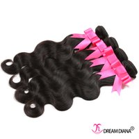Wholesale Cheap Chinese Body Wave Hair - Cheap Brazilian Hair Weave Body Wave Unprocessed Virgin Hair Grade 7A Brazilian Body Wave Human Hair Bundles 4Pcs  Lot Factory Price