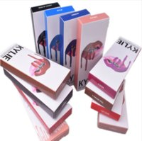 Wholesale Wholesale Violet Lips - 2 in 1! KYLIE JENNER LIP kits Kylie Matte Liquid Lipstick & Lip Liner Kylie lip Velvetine in Red Velvet Makeup 1set=1lipstick+1 lipliner