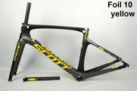 Wholesale Carbon Bike Frame Chinese - 2017 Chinese foil carbon bike frame frameset Di2 Aero T800 racing bike carbon road frame