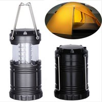 Wholesale Wholesale Lead Weights - Ultra Bright Collapsible 30 Led Light weight Camping Tent Lanterns Light Emergencies Hurricanes For Hiking Fishing LED flashlight