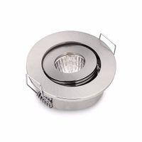 Wholesale led ceiling light 24v - Wholesale- 10PCS 3W LED Ceiling Spot lights Recessed COB MINI LED Light Downlights DC12 24V indoor Lamp