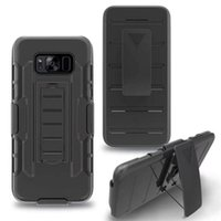 Wholesale iphone 5s holster cases for sale - Group buy Future Armor Impact Hybrid With Belt Clip Holster Kickstand Combo Case for iphone plus S S Galaxy S8 plus S7 edge