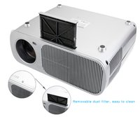 Wholesale Dvd Home Cinema - Wholesale-Wimius T1 2600 Lumens LED Projector Full HD 1080P Home Theater Beamer Cinema Video Proyector Video For XBOX TV Tablet DVD Game