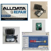 Wholesale Auto Diagnostic Software Chrysler - all data repair alldata 10.53 mitchell on demand 5.8 with laptop toughbook cf19 hdd 1tb auto software diagnostic win7