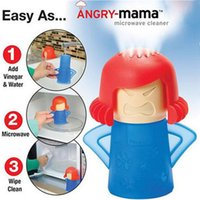 Dust oven quality - High Quality Angry Mama Microwave Oven Steam Cleaner Disinfects With Vinegar and Water Cartoon Microwave Oven Steam Cleaner