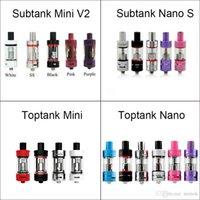 Wholesale Mega V2 - Kanger Toptank Mini Nano Subtank Mini V2 Nano S Tank Atomizers for kangertech topbox subox mini subvod subvod mega kit 100% high quality