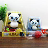 Wholesale Solar Energy Swing - Solar energy swing head panda cute car accessories car decoration Sichuan Chengdu Jinli Street hot