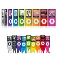 Wholesale Mp4 Player 4th Gen - Hot popular NEW 9 COLORS 8GB 16GB 32GB FM VIDEO 4TH GEN MP4 PLAYER Free shipping wholesale & dropshipping