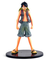 Wholesale Hot Toys Luffy - Wholesale Collection Action Figure Janpan Anime Figures One Piece Hot Toys Luffy PVC Figure 16 cm