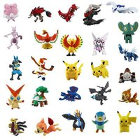 Wholesale 72pcs Action Toy Figures cm Pokeball Pikachu