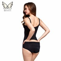 Wholesale Lady Bodysuits Lingerie - Wholesale- Slimming Underwear bodysuit lose weight Lingerie hot Shaper Slimming modeling strap butt lifter Ladies Shapewear Body Shaping