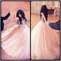 Wholesale Dress Girl 15 - Major Beading Quinceanera Dresses 2017 Modest Sweetheart Tulle Layers Ball Gown Sweep Train Vestidos Girls vestidos de 15 anos