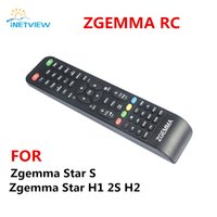 Wholesale Universal Satellite Receiver - Wholesale- 1pc Remote Controller for Zgemma Star Models H1 2S H2 zgemma S Satellite Receiver Combo Receiver free shipping