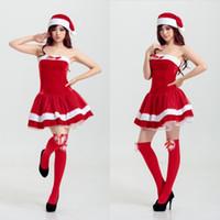 Wholesale Tube Dress Bra - Butterfly Tube Bra Lace Princess Dress Plush Side Christmas Nightclub Stage Performance Dress Japan Christmas Game Uniform