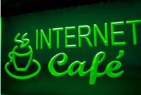 cerveja levou sinal de exibição venda por atacado-Internet Café Coffee Cup Display cerveja bar pub club sinais 3d levou sinal de luz de néon home decor artesanato
