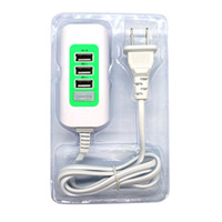 Wholesale Universal Power Extension - 2018 Hot New 3 in 1 USB Charger 5V 1A 2A Multiple USB Charging Ports with Extension Power Cable for iPhone Tablet Camera