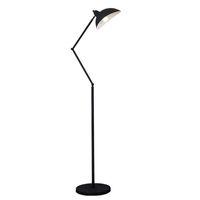 Wholesale Black Metal Lamp Shade - E27 Floor Reading Lamp Creative Modern Minimalist Floor Desk Light Metal Shade Standing Lamp for Bedroom