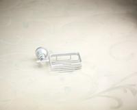 productos de cromo al por mayor-E _Pak Square 5208envío libre del envío Accesorios del cuarto de baño del producto Canasta sólida del jabón del cromo de cobre del latón, sostenedor del plato de jabón, caja del jabón