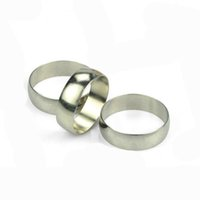Wholesale Silver Ring Magic Trick - MERCURING by Jay Sankey (Gimmick + DVD) magic tricks ring through finger magic props Magia Trick Toys Close up Magie 81147