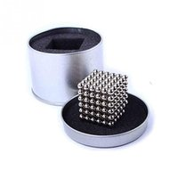 Wholesale 216 Set Cube Neodymium Magnet Balls mm Magnetic Balls for Building D or D Objects Cube Toys with Metal Box