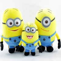 "Wholesale Despicable Plush 25cm - Hot sale Despicable Me 3 minions high quality pp cotton plush toys three styles for you choose 25cm 10"""