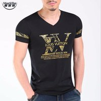 Wholesale Wholesale Hooded T Shirts - Wholesale- Man si Tun 2017 Newest Design Top Fashion Summer Fashion Men's T shirt Men Tops Short Sleeve Casual T-shirt Male T-shirt Brand