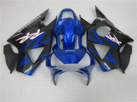 Wholesale Cbr954rr Fairings - Motorcycle fairing kit for Honda CBR900RR 2002 2003 blue black fairings set CBR 954RR 02 23 OT24