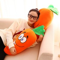 Wholesale Laughing Baby Toys - 50 70 90cm Cute Baby Pillow Cushion decorate At home laugh Carrot Plush Toys Stuffed soft comfy Plush Carrot Cloth Doll