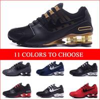Wholesale Shox Brand Shoes - Brand New Mens Shoes Shox Avenue Sports Running Shoes Men Air Cushion Shox NZ Trainers Sneakers Man Jogging Tennies Shoes