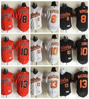 orioles orange - 2017 Baltimore Orioles Baseball Jerseys Flexbase Adam Jones Manny Machado Cool Base Cal Ripken Jr Stitched Cheap Baseball Jersey