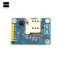 Wholesale Gsm Module Antenna - New Arrival PCB Antenna 5V 800mA Module Board Quad For Band SMS Data GSM GPRS Globally Available Electronic Module Board