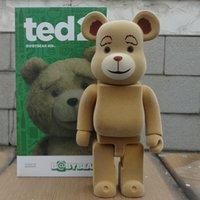 Wholesale Good Gift Girlfriend - 28cm 400% BearBrick Bear BABY MILO Replica Art Figure As A Gift Action Figure For Boyfriends Girlfriends Christmas Gift